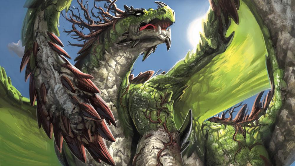 Зеленый Дракон поворачивает голову 09.03.2020