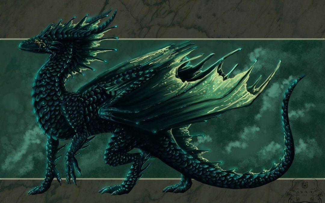Зеленый Дракон поворачивает голову 05.10.2020