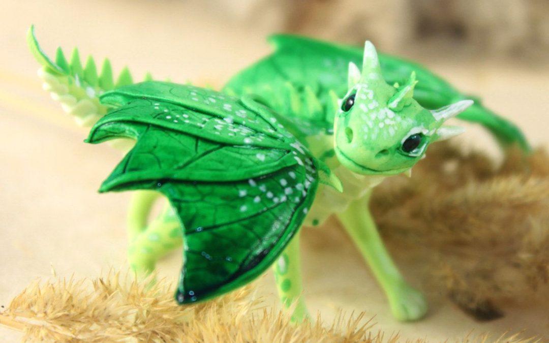 Зеленый Дракон поворачивает голову 30.01.2020
