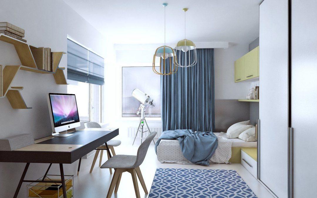 Спальня и рабочий стол в фэн-шуй