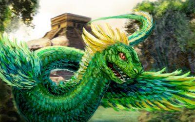 Зеленый Дракон поворачивает голову 17.06.2019
