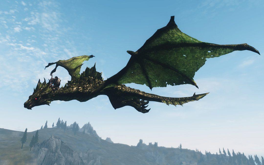 Зеленый Дракон поворачивает голову 13.10.2019