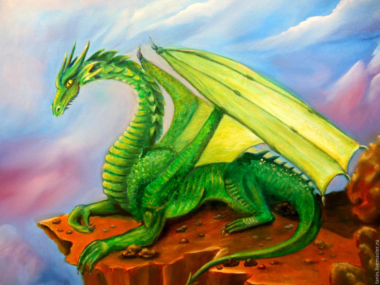 Картинка детский дракон